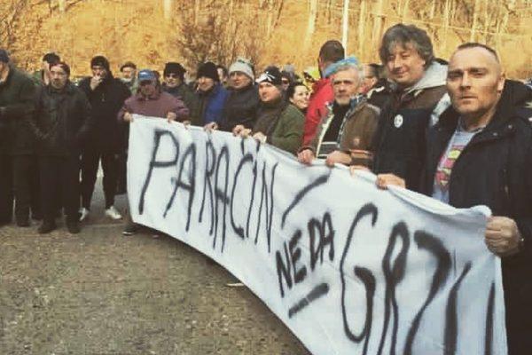 Grza protest MHE