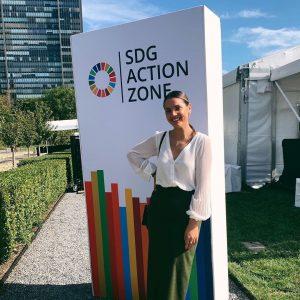 mladi Srbi na UN samitu