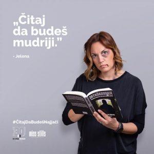 Evrobook kampanja Citaj da budes jaci